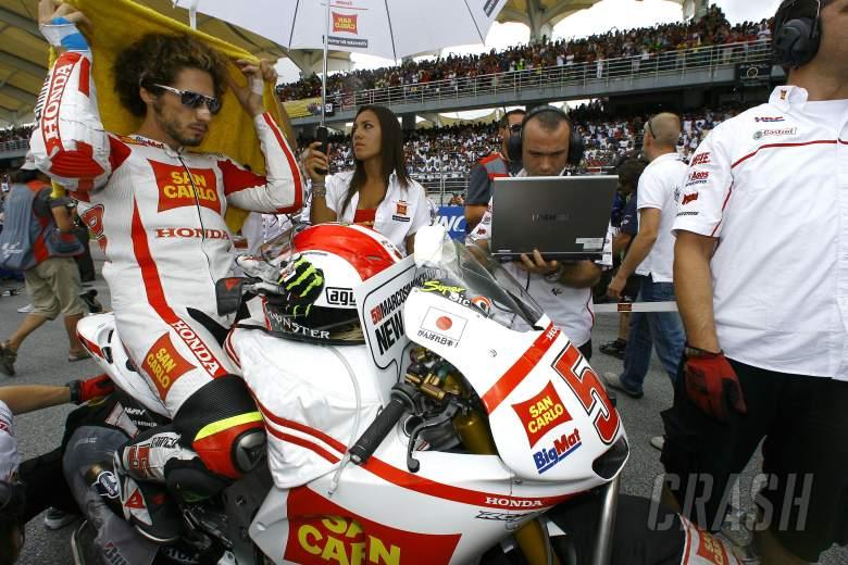 Simoncelli, Malaysian MotoGP 2011