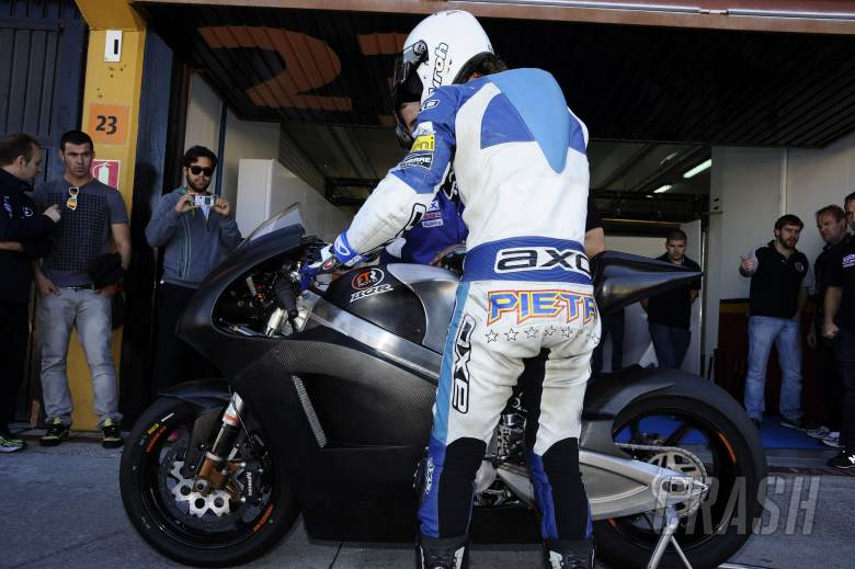 Pietri, Valencia MotoGP Test, November 2011