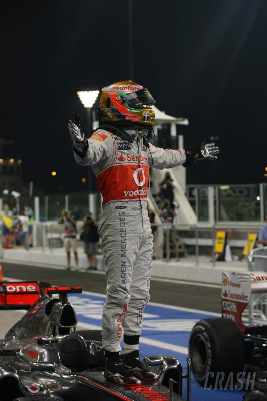 13.11.2011- Race, Lewis Hamilton (GBR), McLaren  Mercedes, MP4-26 race winner