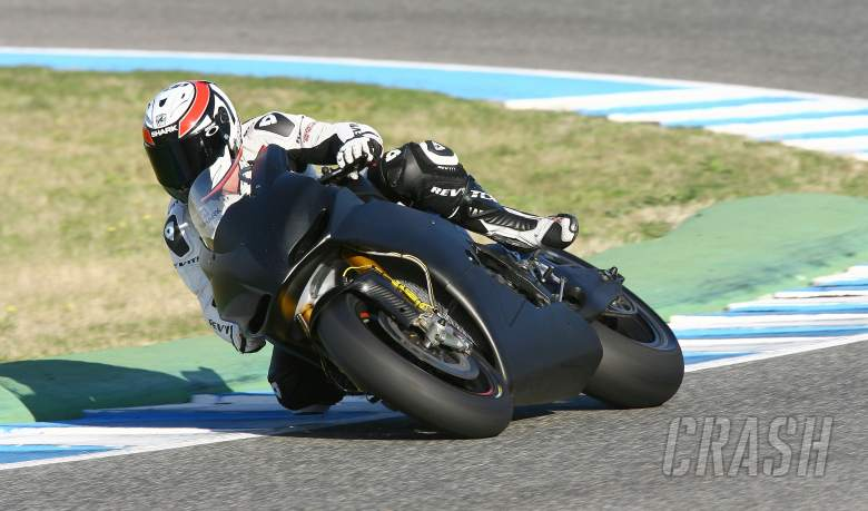 Randy De Puniet, Aprilia, Jerez tests, November 2011