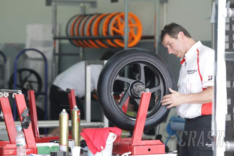 Bridgestone tyres, Sepang MotoGP test, 28th Feb-1st March 2012
