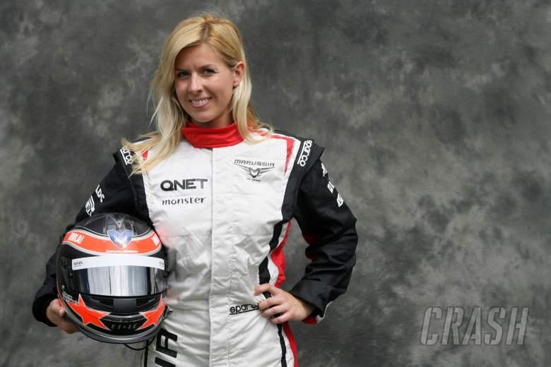 Maria de Villota (ESP) Marussia F1 Team