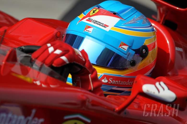 , , 24.03.2012- Qualifying, Fernando Alonso (ESP) Scuderia Ferrari F2012