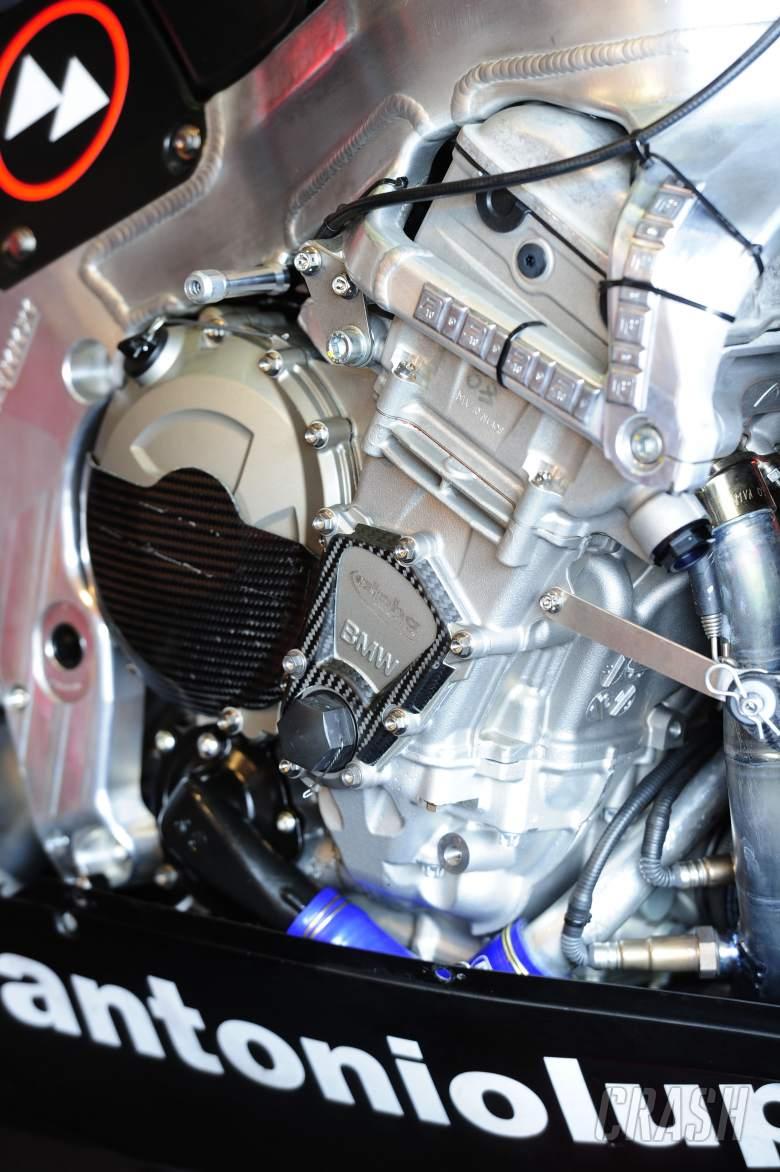 NGM Forward Racing BMW Alpha Racing engine, Jerez MotoGP Test March 2012
