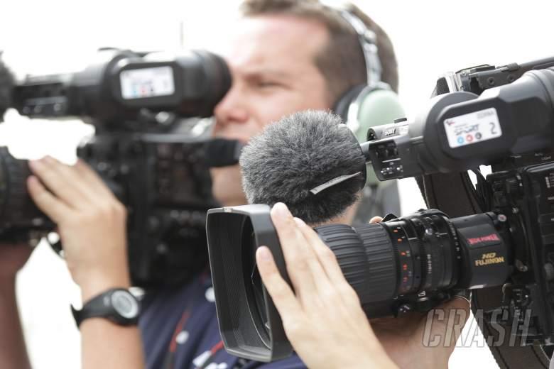 TV cameras, Qatar MotoGP 2012