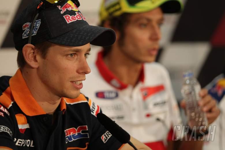 Stoner and Rossi, Qatar MotoGp 2012
