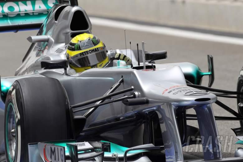 20.04.2012- Free Practice 1, Nico Rosberg (GER) Mercedes AMG F1 W03