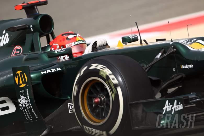 20.04.2012- Free Practice 2, Heikki Kovalainen (FIN) Caterham F1 Team CT01