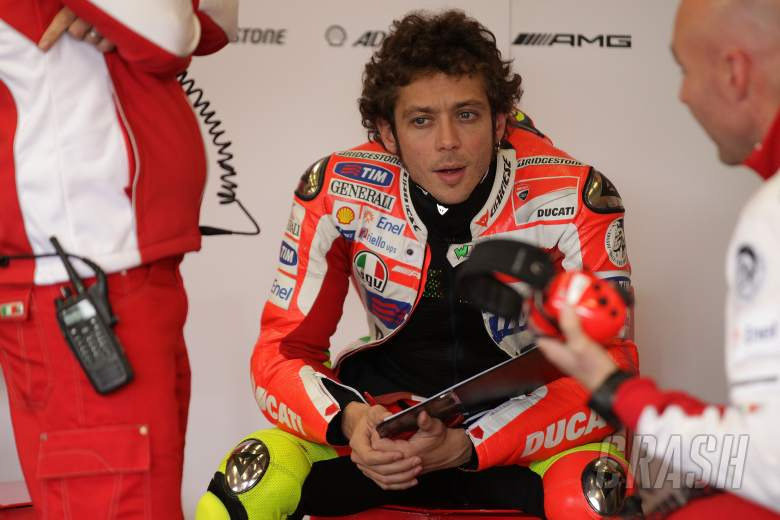 Rossi, Spanish MotoGP 2012