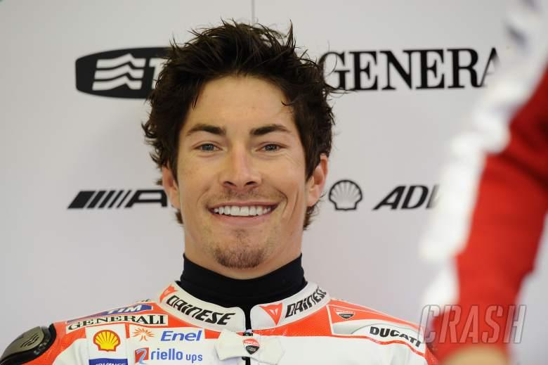 , - Hayden, Spanish MotoGP 2012