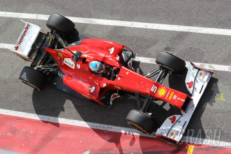,  - Fernando Alonso (ESP), Scuderia Ferrari 03.05.2012. Formula 1 World Championship, Testing, Mugello,