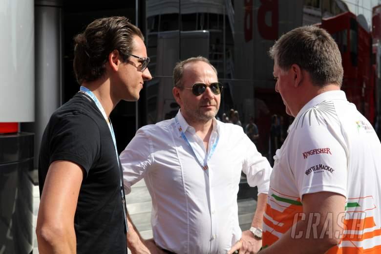 12.05.2012- Free Practice 3, Adrian Sutil (GER), Force India F1 Team, VJM04
