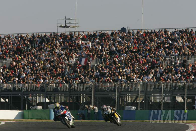 Vermeulen, Lanzi, Magny Cours WSBK Race 2 Part 2, 2005