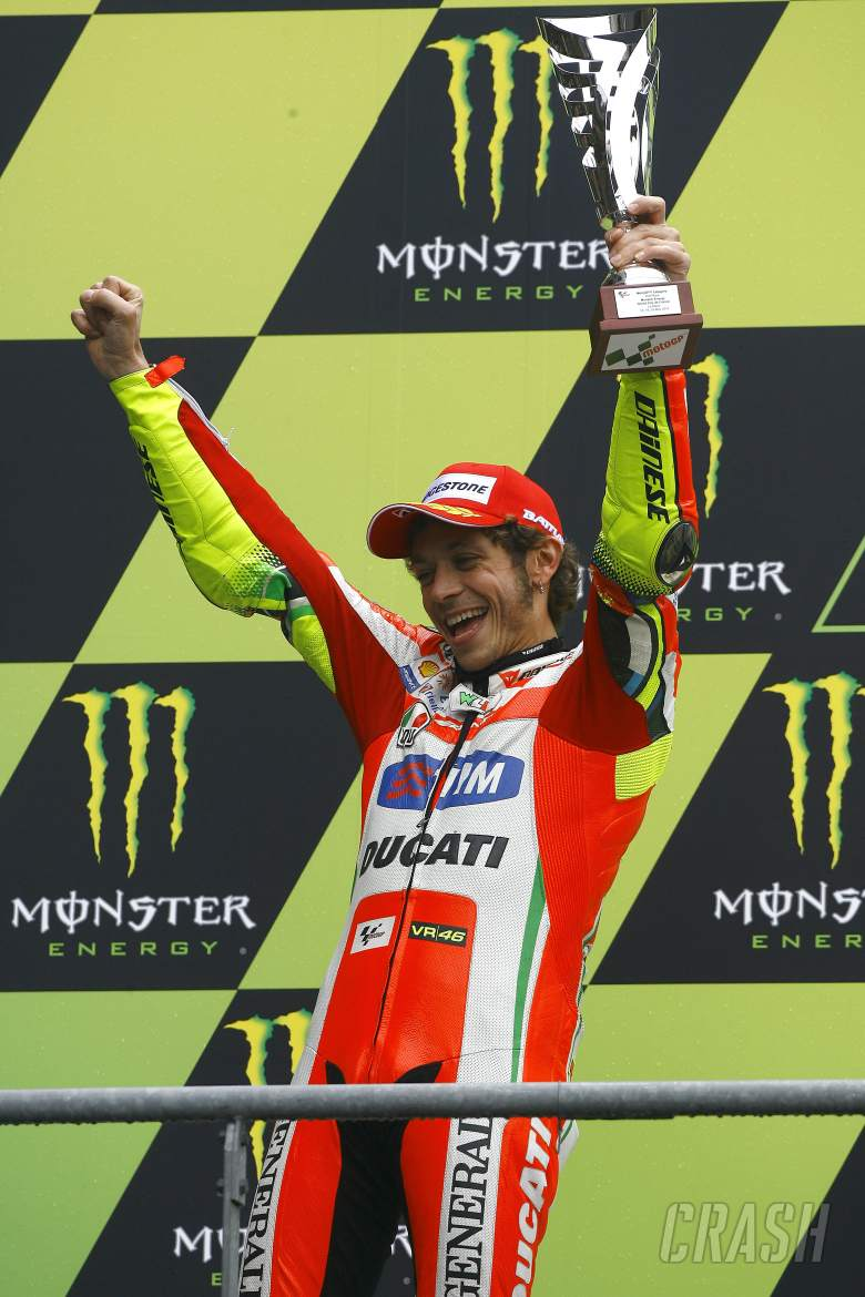 Rossi French MotoGP 2012