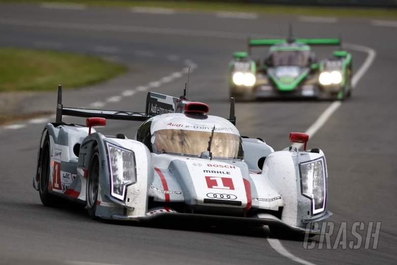 Andre Lotterer/Marcel Fassler/Benoit Treluyer Audi Sport Team Joest Audi R18 E-Tron Quattro