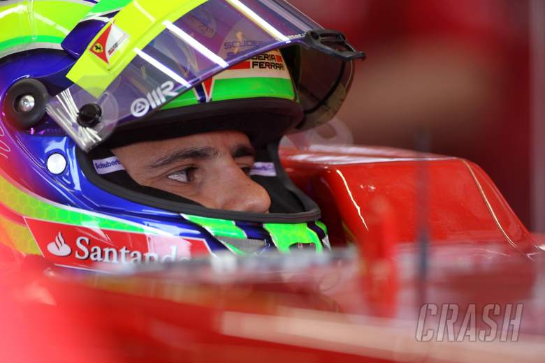 22.06.2012- Free Practice 1, Felipe Massa (BRA) Scuderia Ferrari F2012