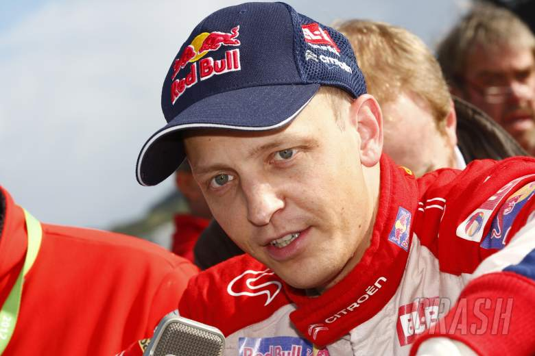Mikko Hirvonen (FIN) Jarmo Lehtinen (FIN) Ford Fiesta RS WRC
