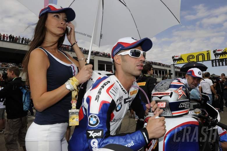 Melandri, Spanish WSBK Race 1 2012