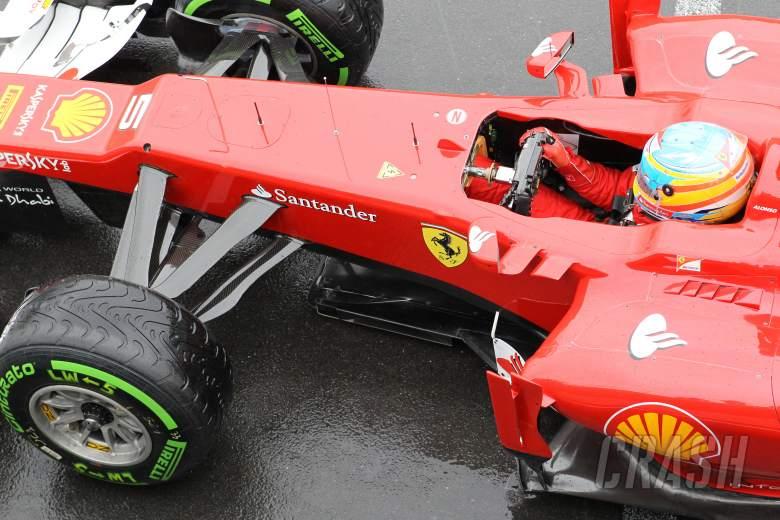 06.07.2012- Free Practice 2, Fernando Alonso (ESP) Scuderia Ferrari F2012