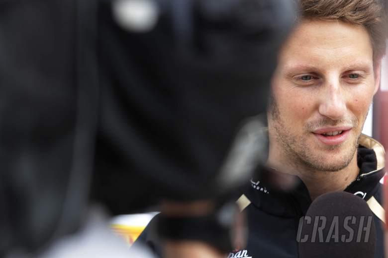 Romain Grosjean (FRA) Lotus Renault