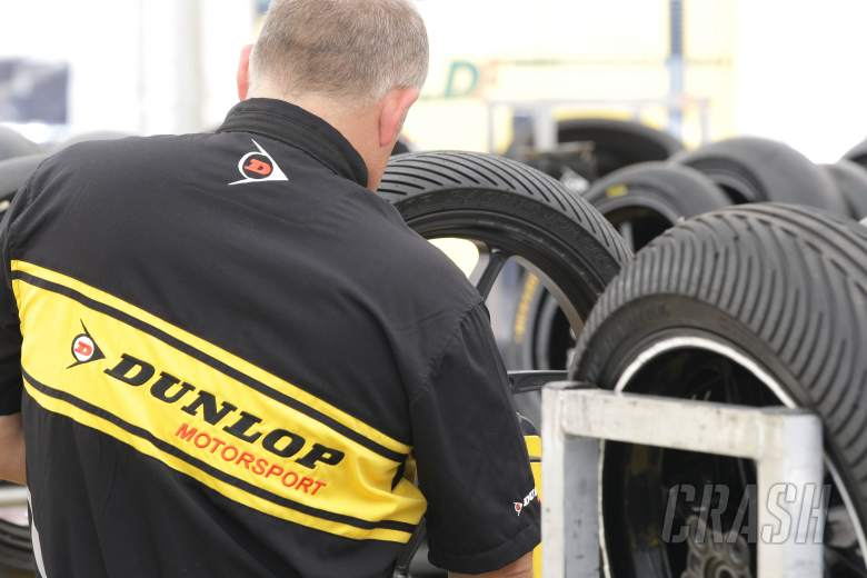 Dunlop tyre fitter, Italian MotoGP 2012