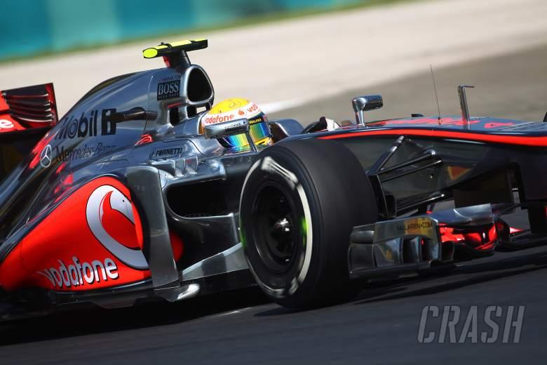 27.07.2012- Free Practice 1, Lewis Hamilton (GBR) McLaren Mercedes MP4-27
