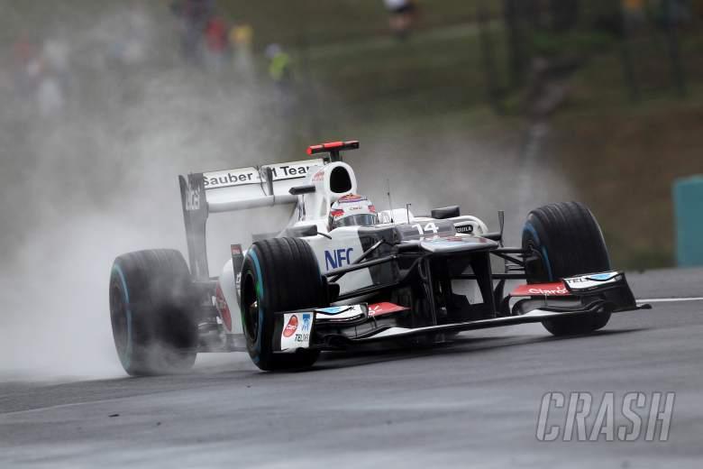 27.07.2012- Free Practice 2, Kamui Kobayashi (JAP) Sauber F1 Team C31