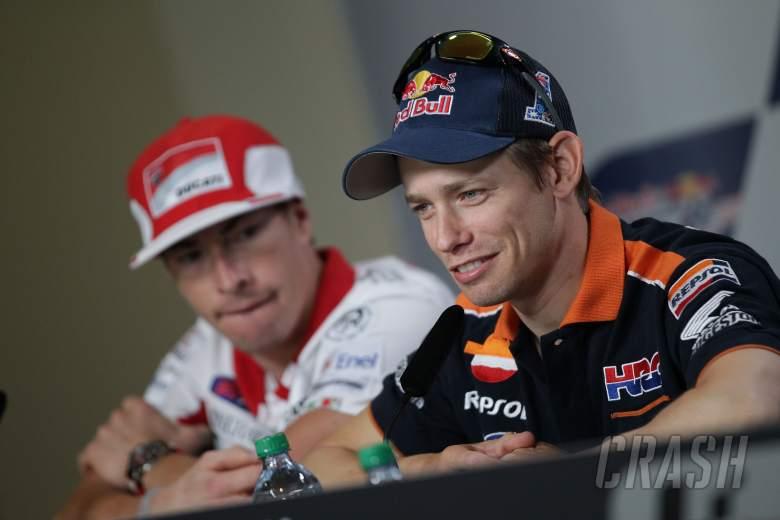 Hayden and Stoner, Indianapolis MotoGP 2012