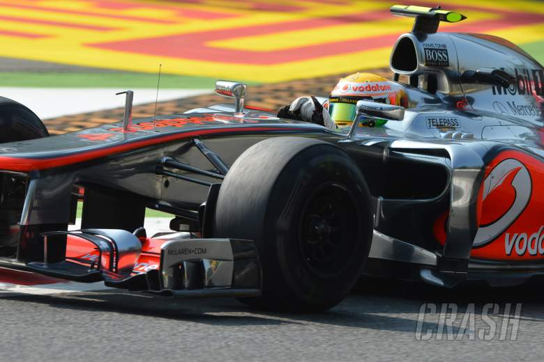 07.09.2012- Free Practice 1, Lewis Hamilton (GBR) McLaren Mercedes MP4-27