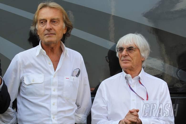 , , 08.09.2012- Free Practice 3, Luca Cordero di Montezemolo (ITA), President Scuderia Ferrari and Berni