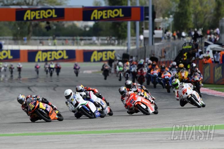 Cortese, San Marino Moto3 Race 2012