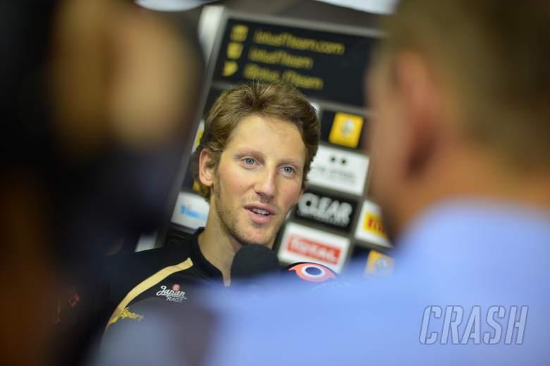 20.09.2012 - Romain Grosjean (FRA) Lotus F1 Team E20