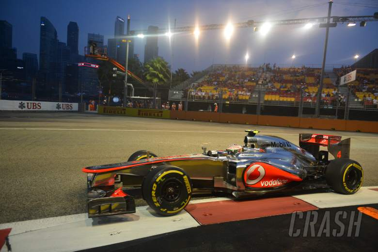 21.09.2012 - Free Practice 1, Lewis Hamilton (GBR) McLaren Mercedes MP4-27