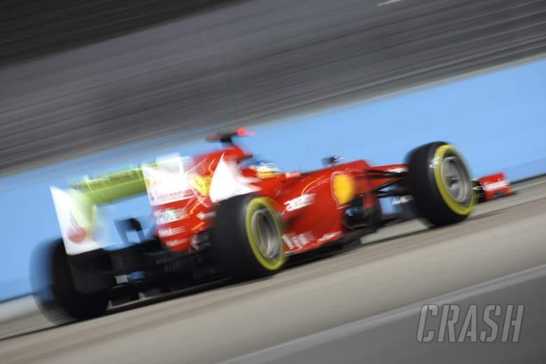21.09.2012 - Free Practice 1, Fernando Alonso (ESP) Scuderia Ferrari F2012