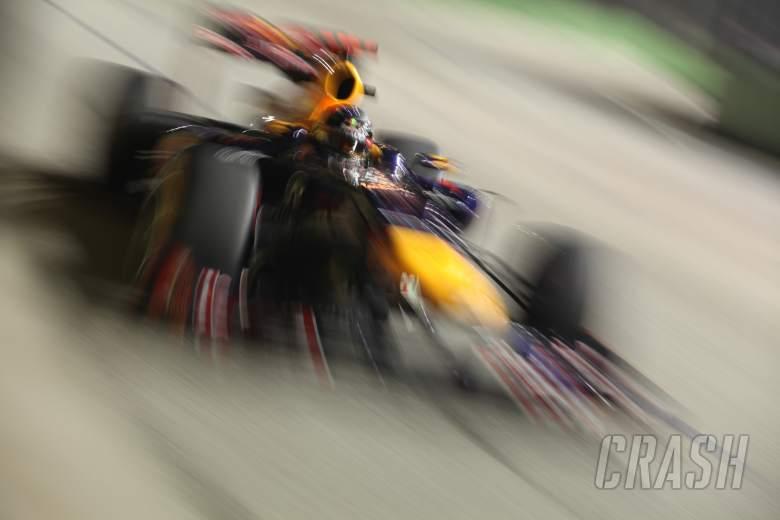 21.09.2012 - Free practice 2, Sebastian Vettel (GER) Red Bull Racing RB8