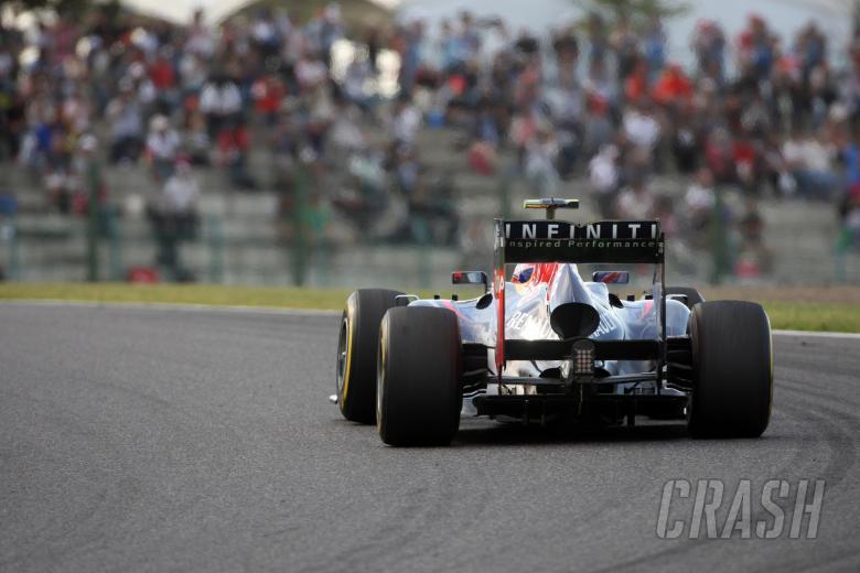 05.10.2012- Free Practice 2, Mark Webber (AUS) Red Bull Racing RB8