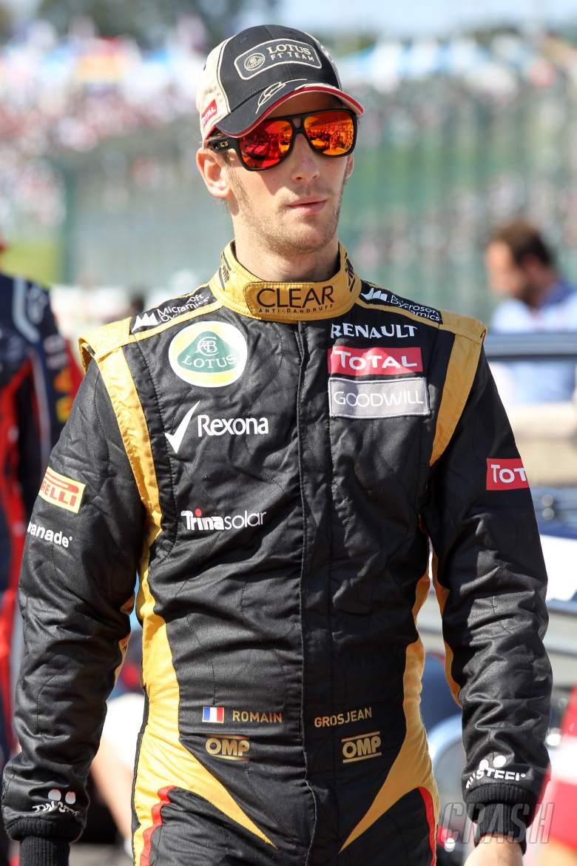 07.10.2012- Romain Grosjean (FRA) Lotus F1 Team E20