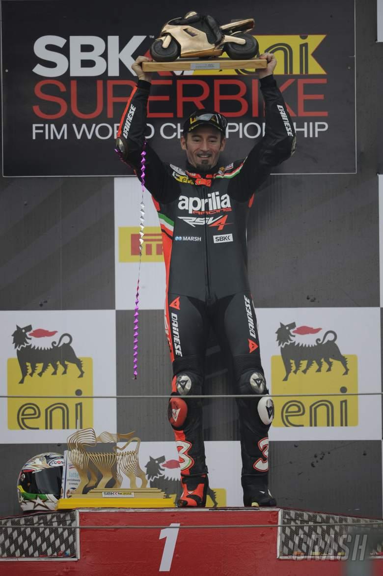 Biaggi, 2012 World Superbike Champion, French WSBK Race 2 2012