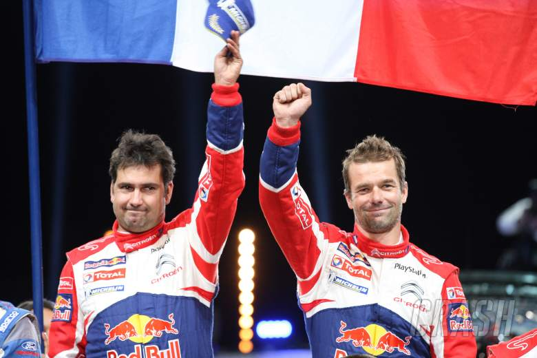 Sebastien Loeb (FRA) Daniel Elena (MON), Citroën DS3 WRC, Citroën Total World Rally Team