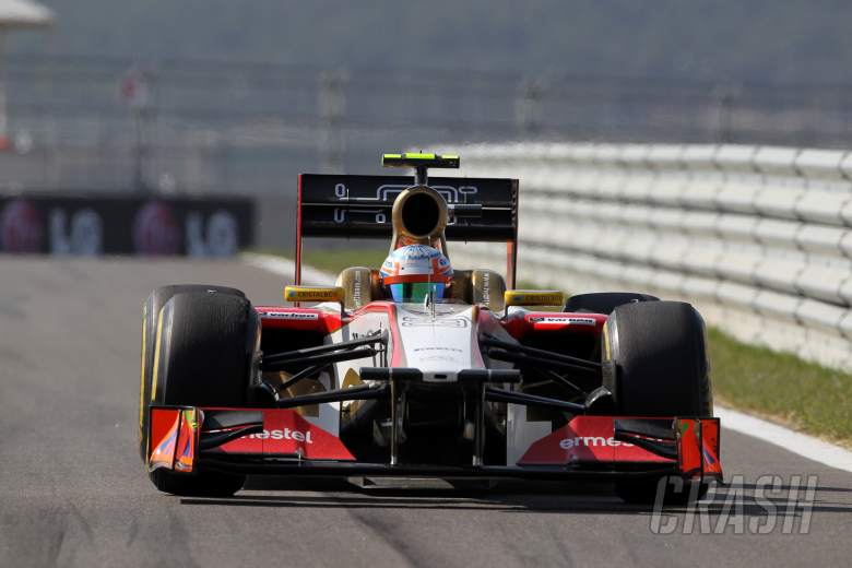 12.10.2012-  Free Practice 2, Narain Karthikeyan (IND) HRT Formula 1 Team F112