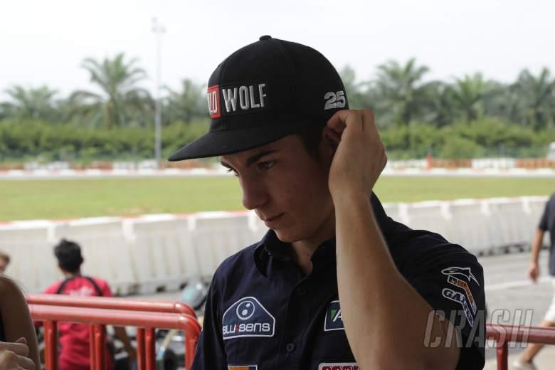 Maverick Vinales, Karting, Malaysian MotoGP 2012