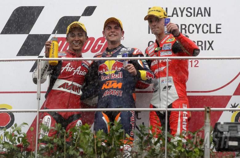 , , Khairuddin, Cortese, Folger, Moto3, Malaysian MotoGP 2012