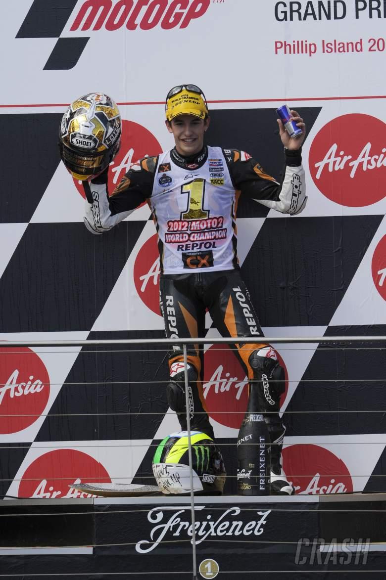 Marquez, Australian Moto2 2012