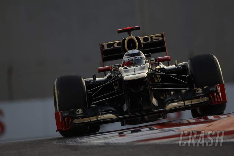 Free Practice 2: Kimi Raikkonen (FIN) Lotus F1 Team E20