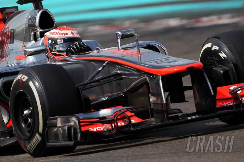Kevin Magnussen (DEN) McLaren MP4/27 Test Driver.06.11.2012. Formula 1 Young Drivers Test, Day 1, Y