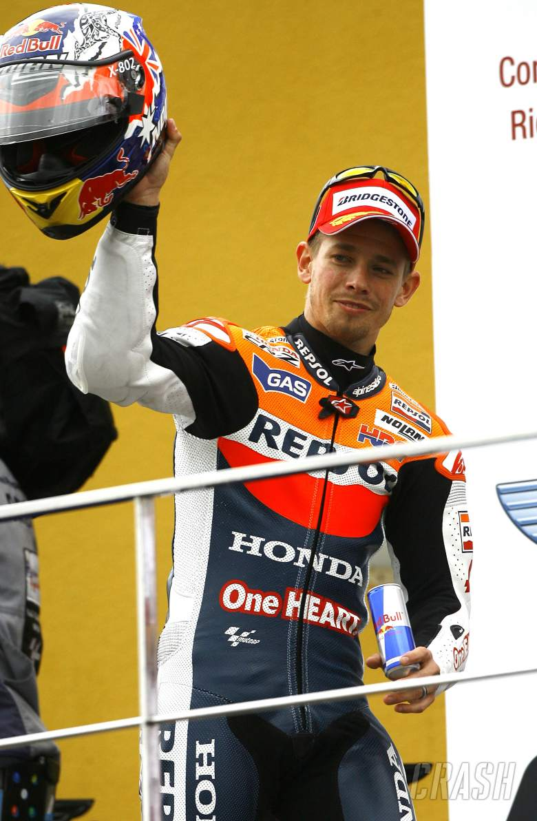 Stoner, Valencia MotoGP 2012