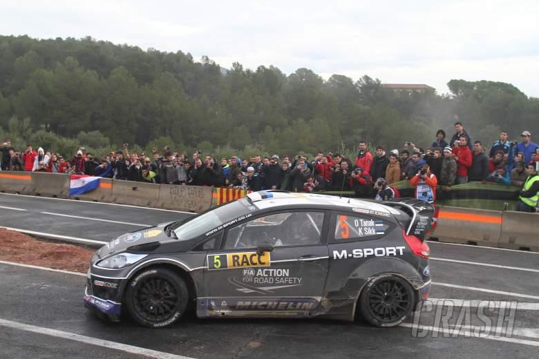 Ott Tanak (EST) Kuldar (EST), Ford Fiesta WRC, M-Sport World Rally Team