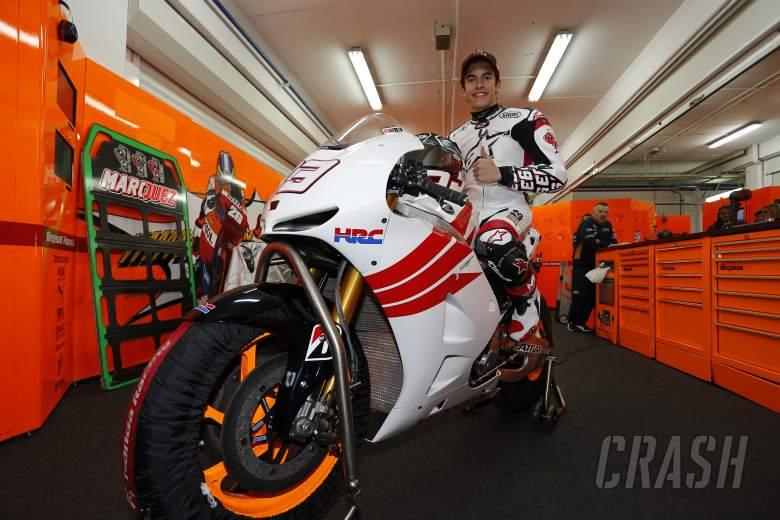 Marquez, Valencia MotoGP test, November 2012