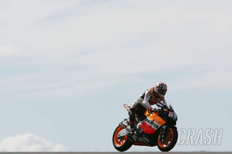 Hayden, Phillip Island MotoGP Test 2/2/06