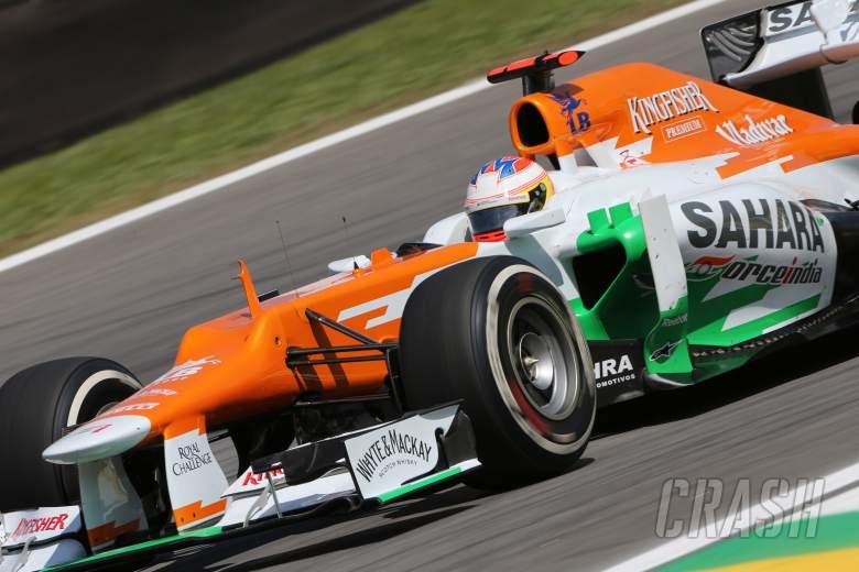 23.11.2012- Free Practice 2, Paul di Resta (GBR) Sahara Force India F1 Team VJM05